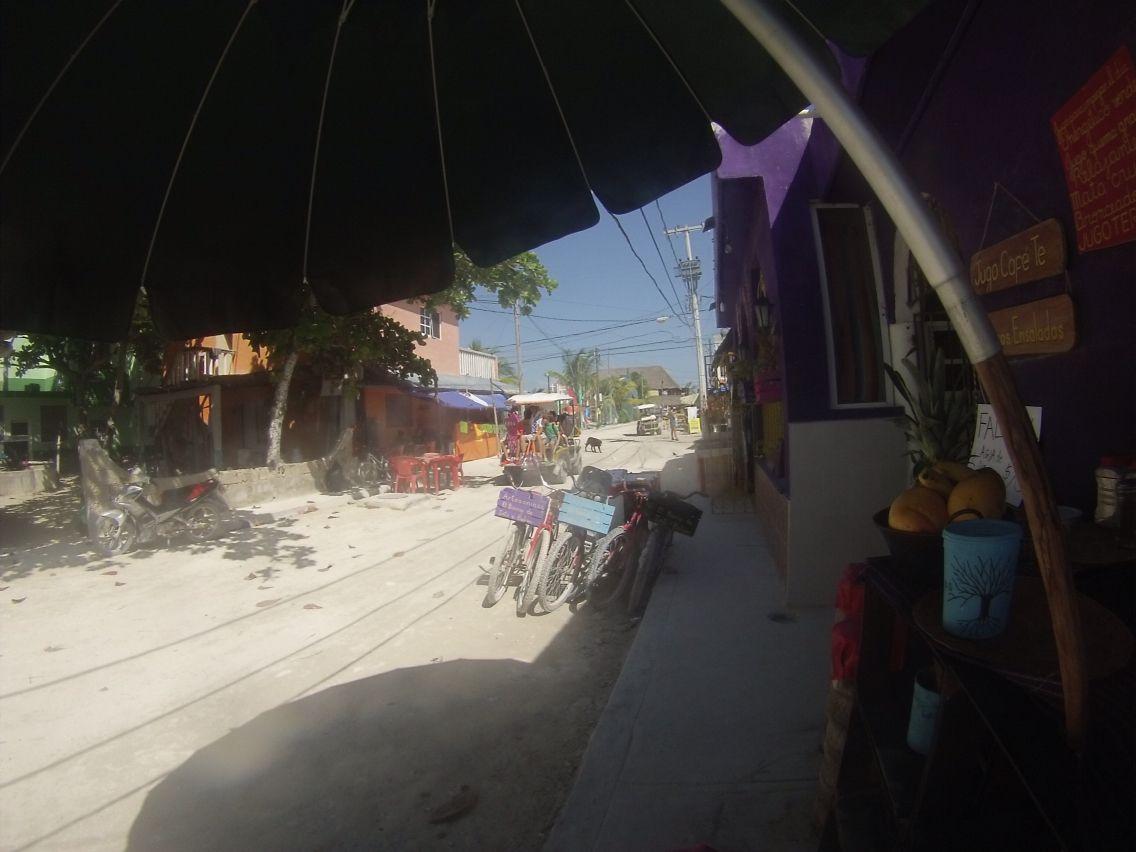 Calles de Holbox