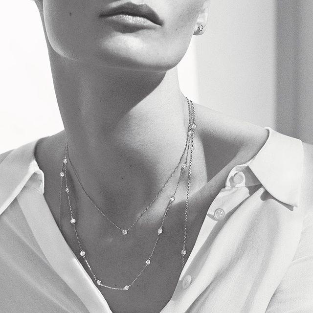 cf3c82c4e Elsa Peretti® Diamonds By The Yard® necklace (courtesy Tiffany & Co.  instagram)©Elsa Peretti™ Tiffany&Co.