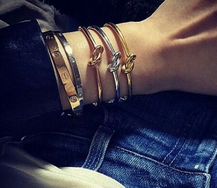 Celine Knot Bangle Knot Bangle Luxury Accessories Cartier Love