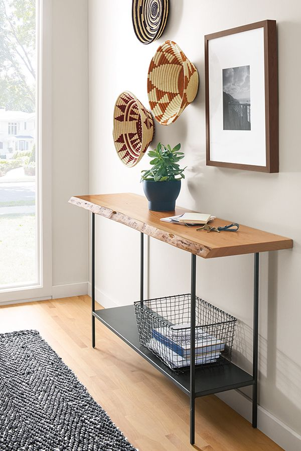 Chilton Console Table in Walnut - Modern Console Tables - Modern Living Room Furniture -   13 room decor Modern consoles ideas
