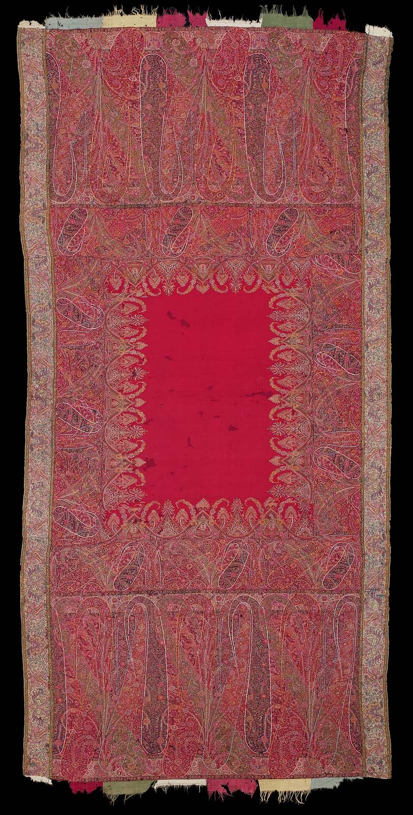 Shawl Digital Print Fabric Weaving Art Kashmiri Shawls
