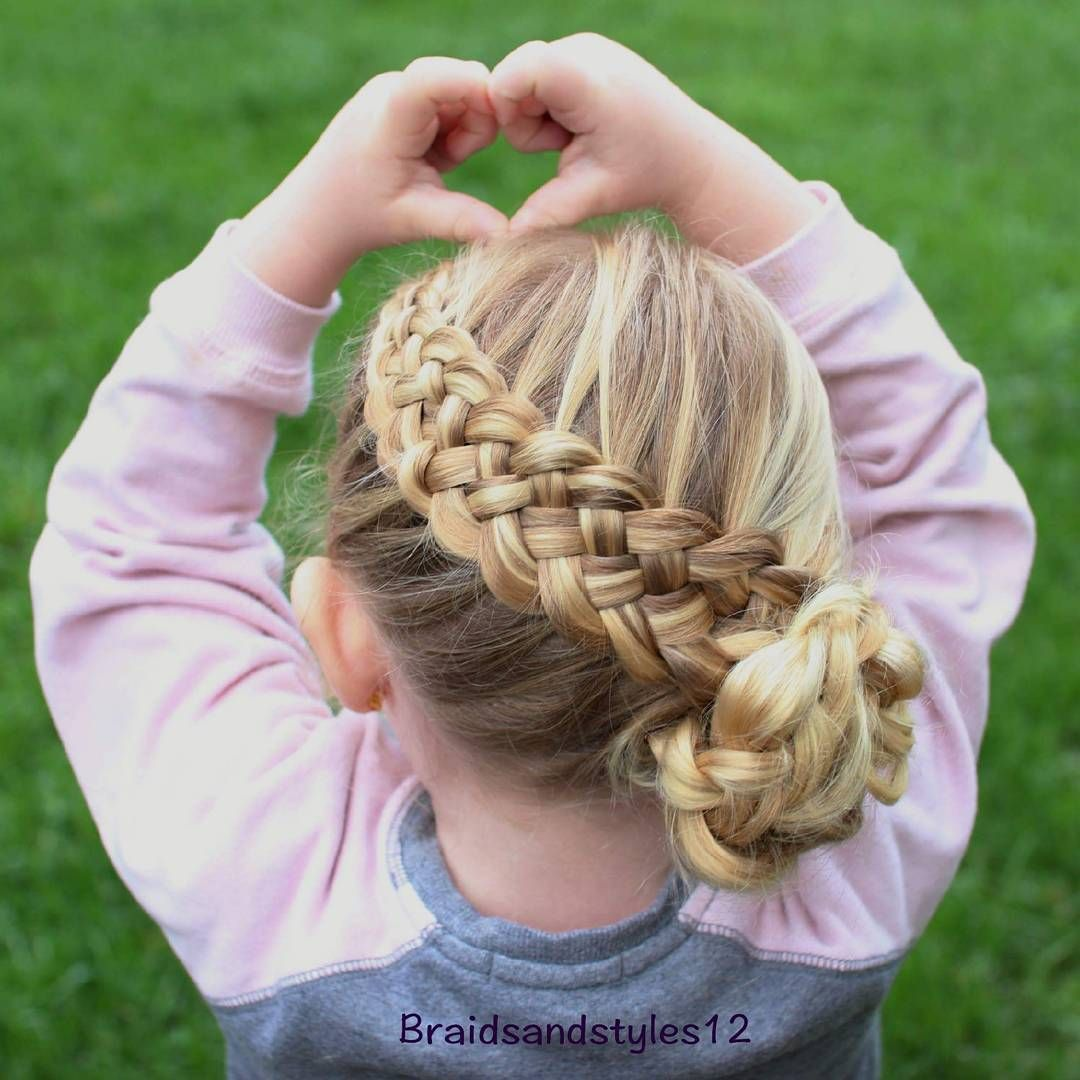 40 cool hairstyles for little girls on any occasion | basket weave