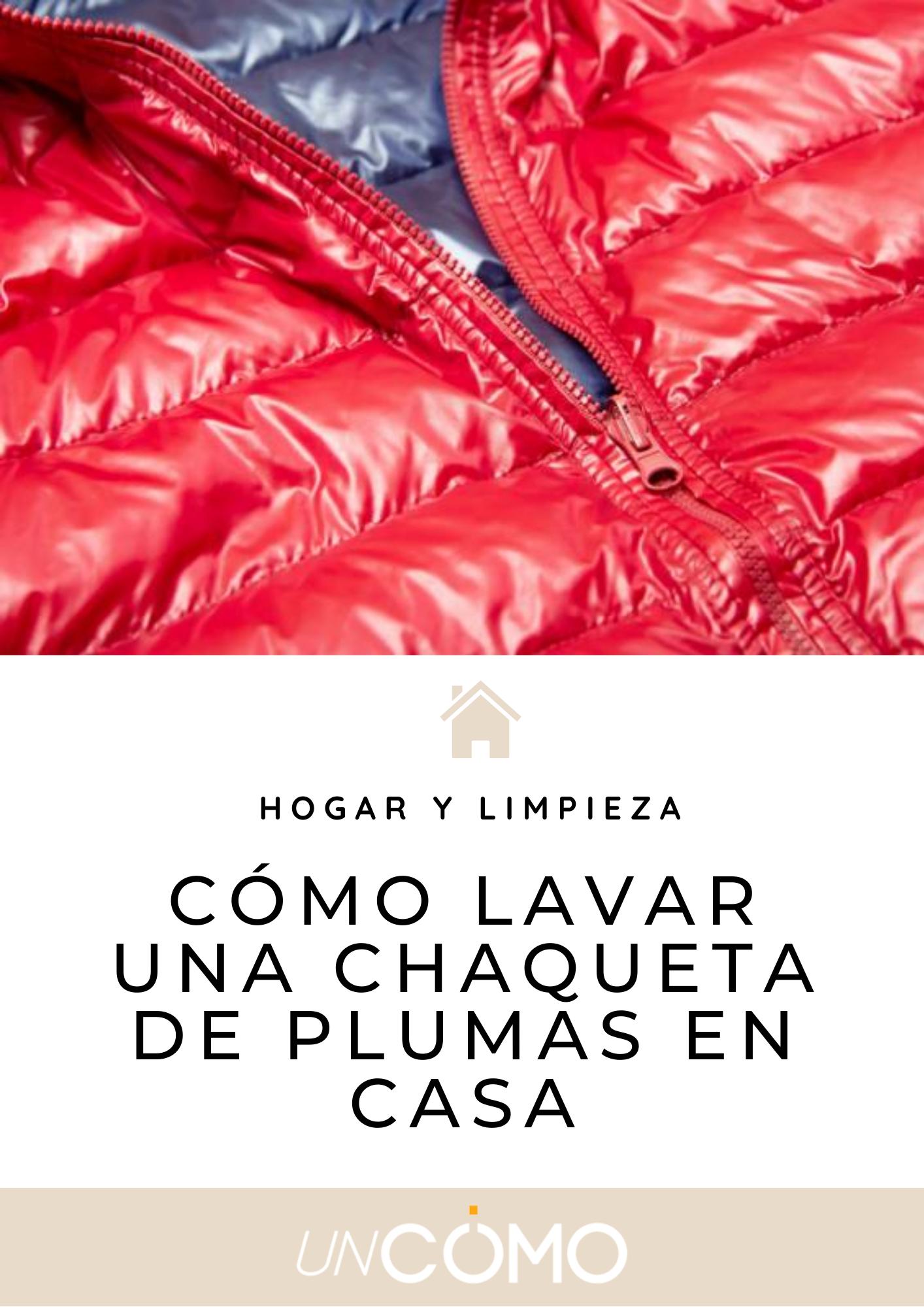 Cómo Lavar Una Chaqueta De Plumas En Casa Paso A Paso Eficaz In 2021 Red Leather Jacket Tips Leather Jacket