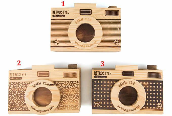 Wooden Camera Shaped Pen Holder Wooden Camera Shaped Business Cards Camera Logos Design