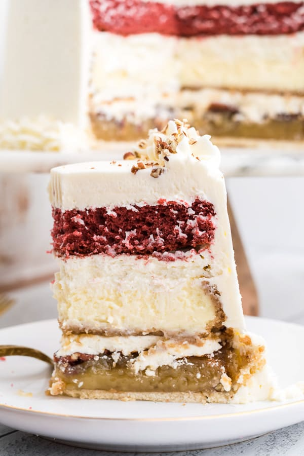 Christmas Piecaken Recipe Holiday Baking Recipes Top Christmas Desserts Vanilla Bean Cheesecake
