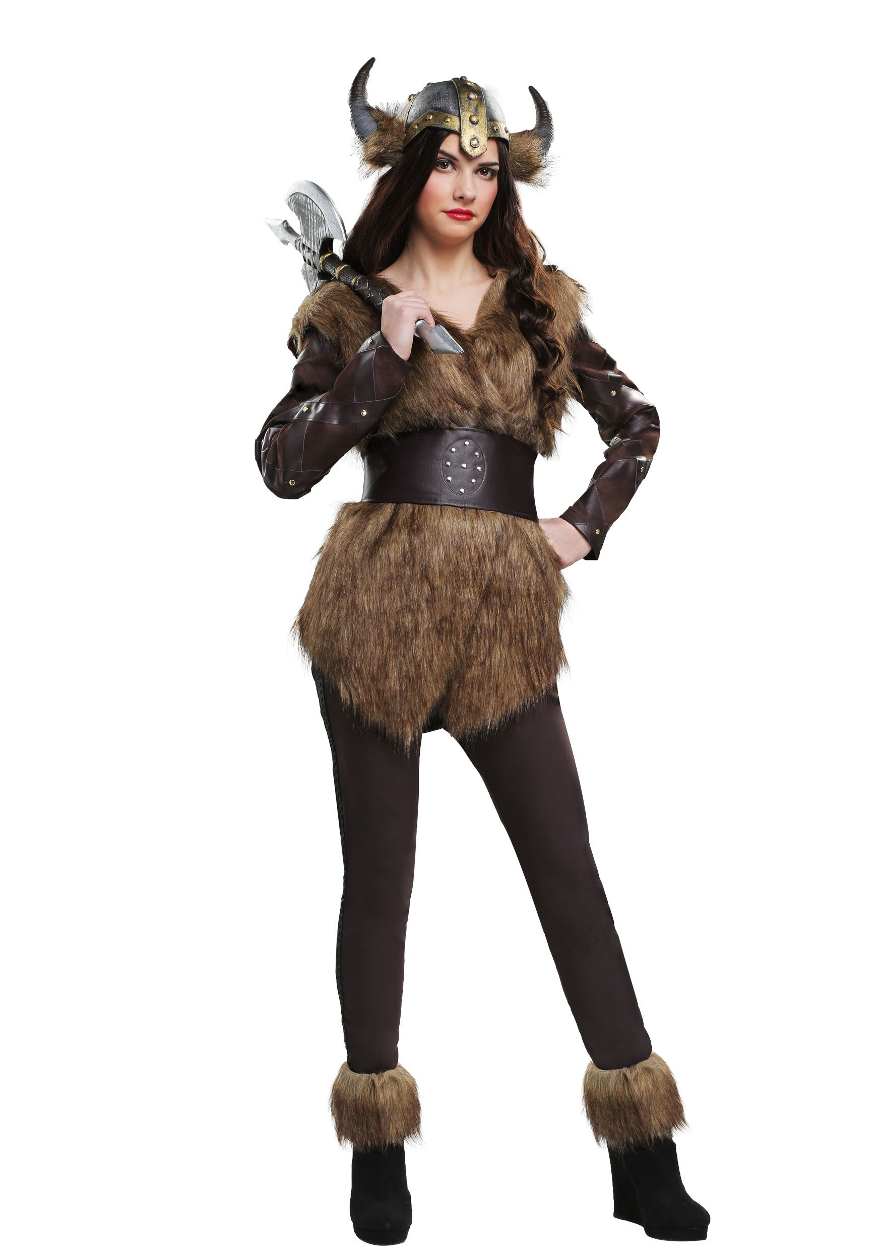 Warrior Viking Women's Costume