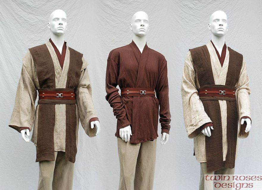 star wars jedi costumes google search sewing. Black Bedroom Furniture Sets. Home Design Ideas