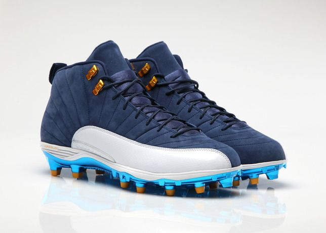 the best attitude 4ad15 529db Jordan brand Football athletes set to wear Air Jordan 12 cleats