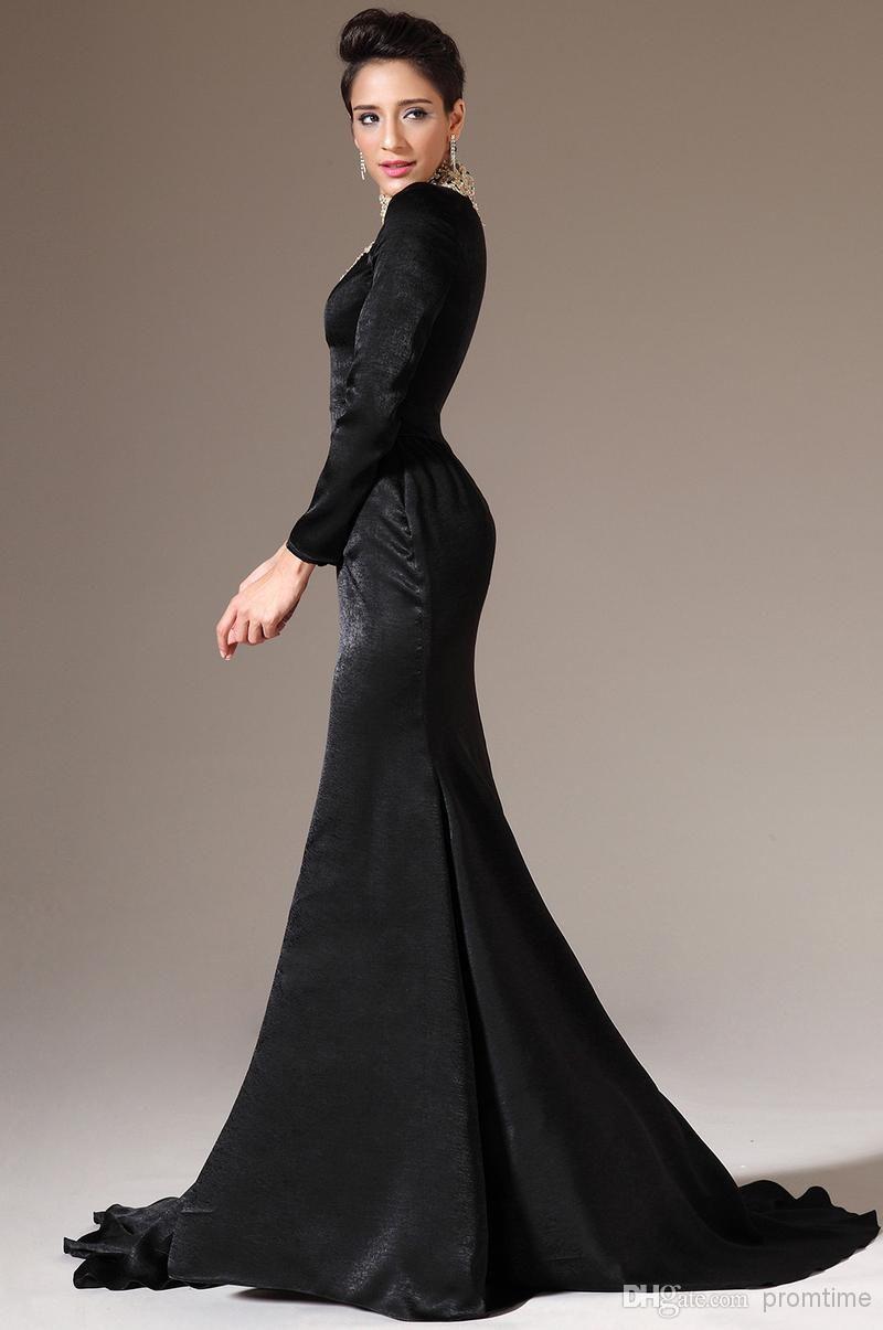 Long Sleeves Prom Dresses Formal | Formal Dresses | Pinterest ...