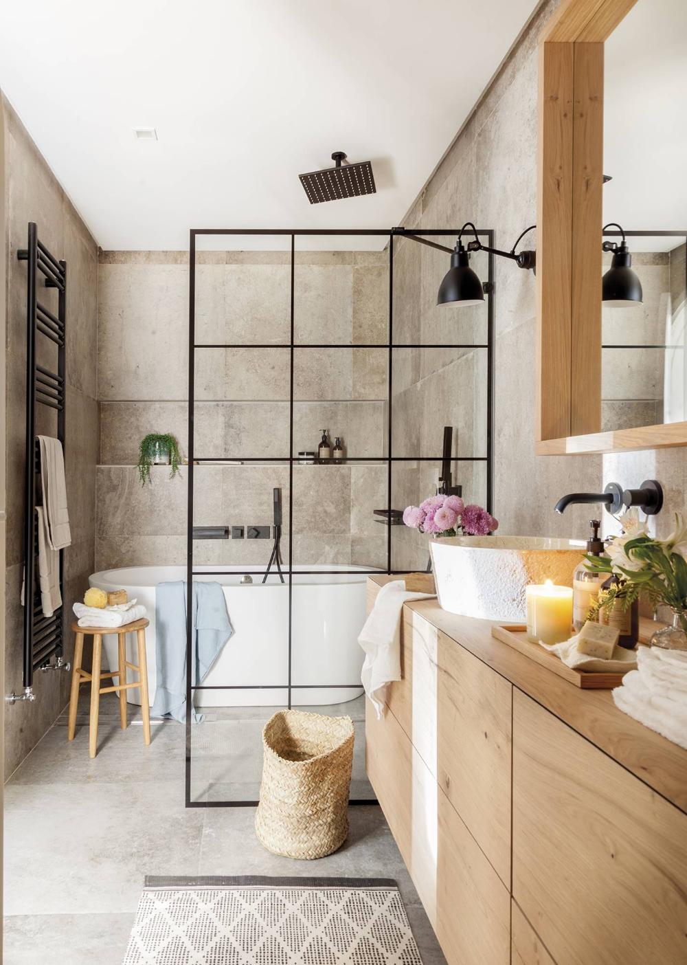 Un baño como un spa en 2020 | Platos de ducha, Muebles de ...