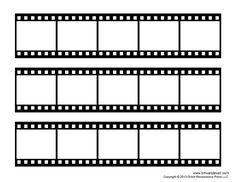 Filmstrip Template | Film Strip Template Bits N Pieces Pinterest Template Films