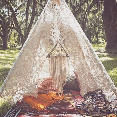 Boho-tastic — In LVE with the teepees from... | Teepee's ...