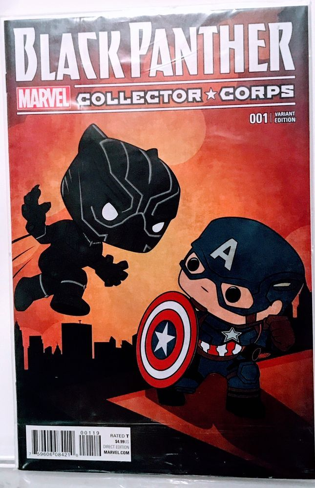 quality design 422a4 22631 NEW MARVEL BLACK PANTHER #1 COMIC BOOK FUNKO COLLECTOR CORPS ...