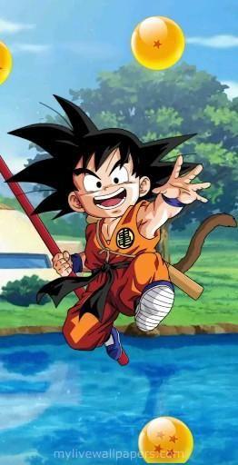   Save & Follow   Goku • Live Wallpaper • Dragon Ball Z