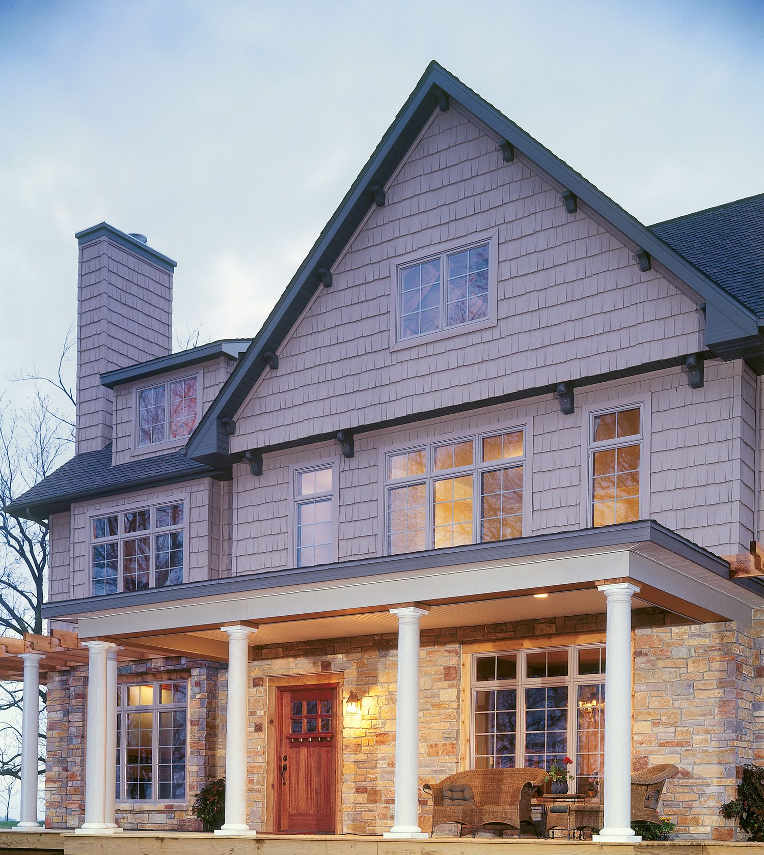 Do You Want A Dramatic Yet Elegant Look Transform Your Home With Mastic Exteriors Wall Cladding