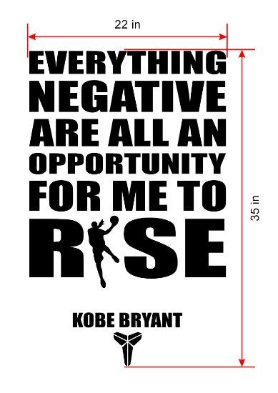 Amazon.com: Basketball Wall Decals/Kobe Bryant Famous Quotes Wall Decals by CraftyDecoArtz: Motivational Quotes Wall Art Decals. A All Star Sports NBA Basketball Players Wall Decal Stickers Made in USA - RED: Home & Kitchen