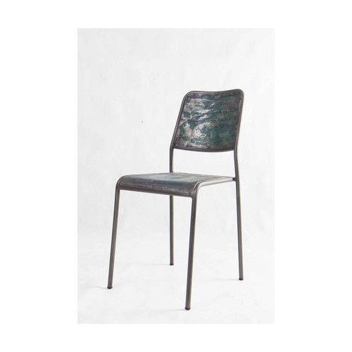 Kleo Drum Metal Chair Temple Amp Webster Metal Chairs