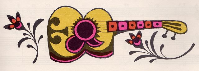 The Fireside Book of Children's Songs by my vintage book collection (in blog form), via Flickr