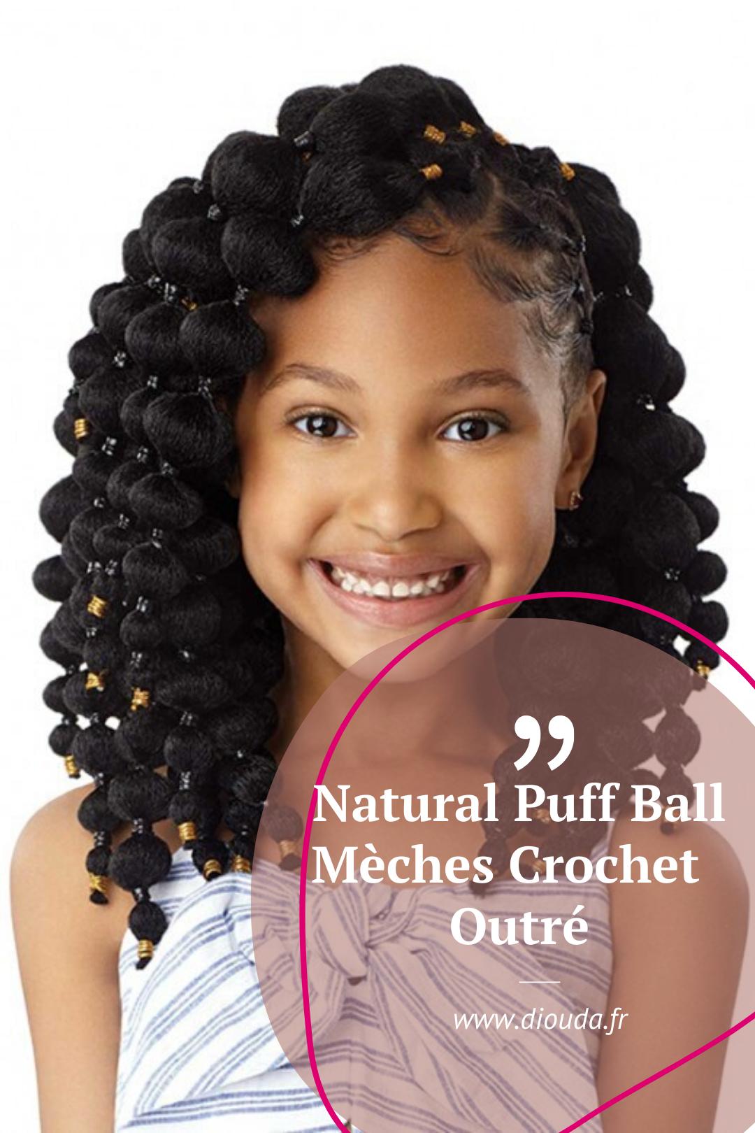 Coiffure Enfant Meches Crochet X Pression Coiffure Enfant Coiffure Coiffures Enfant Fille