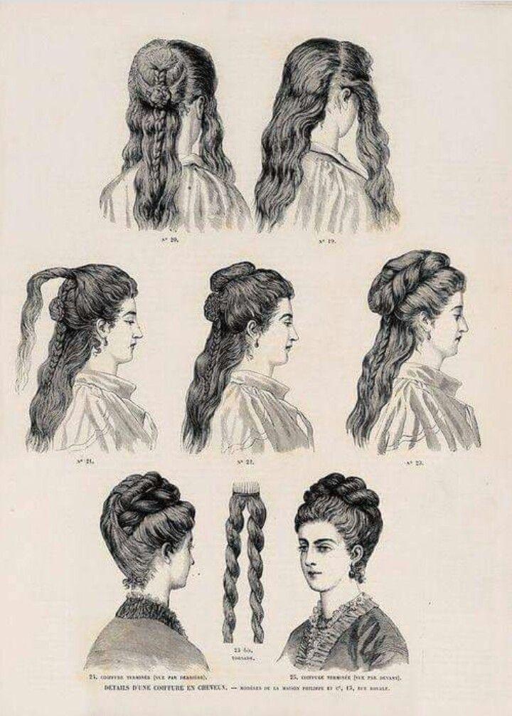Pin Von Kontakt Auf 1888 Frisuren Historische Frisuren Viktorianische Frisuren