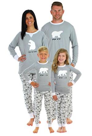 Bear Family Matching Pajama Set  48d1a07ae