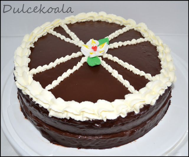 Dulcekoala Galletas Decoradas... y otros dulces...: TARTAS CLÁSICAS: TARTA SACHER PASO A PASO....Y mi ...