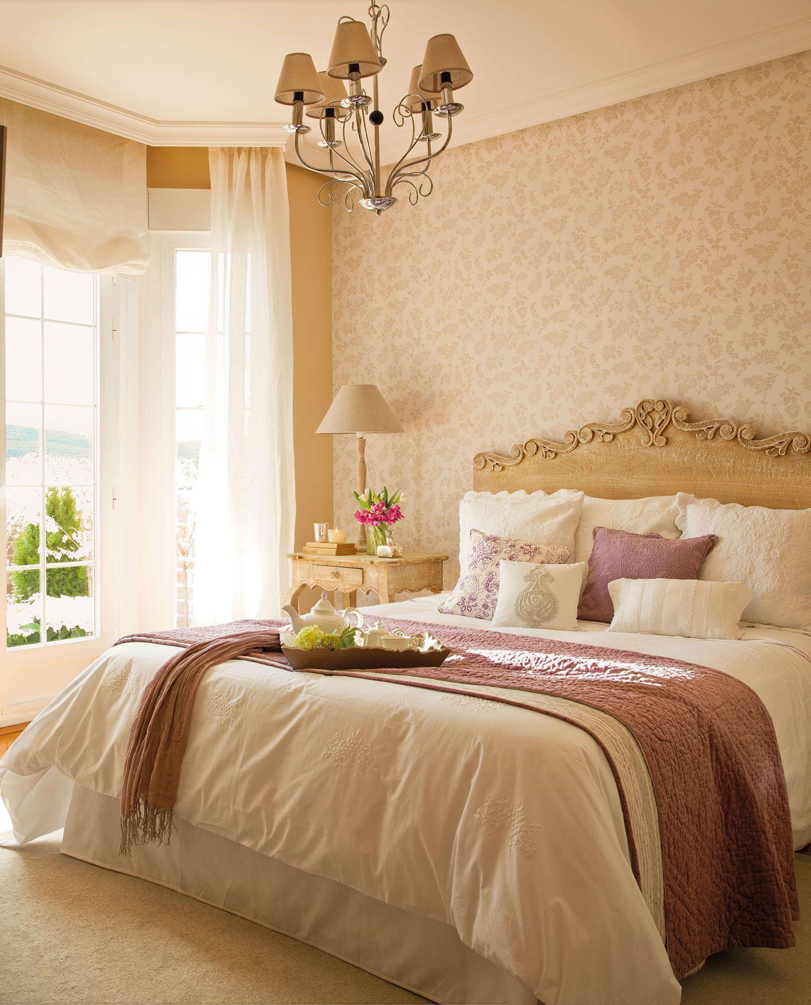 Los mejores dormitorios rom nticos san valent n - Camas estilo romantico ...