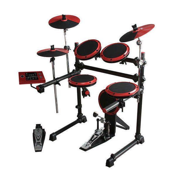 ddrum module  Crash cymbal pad  Ride cymbal pad  Hi-hat controller