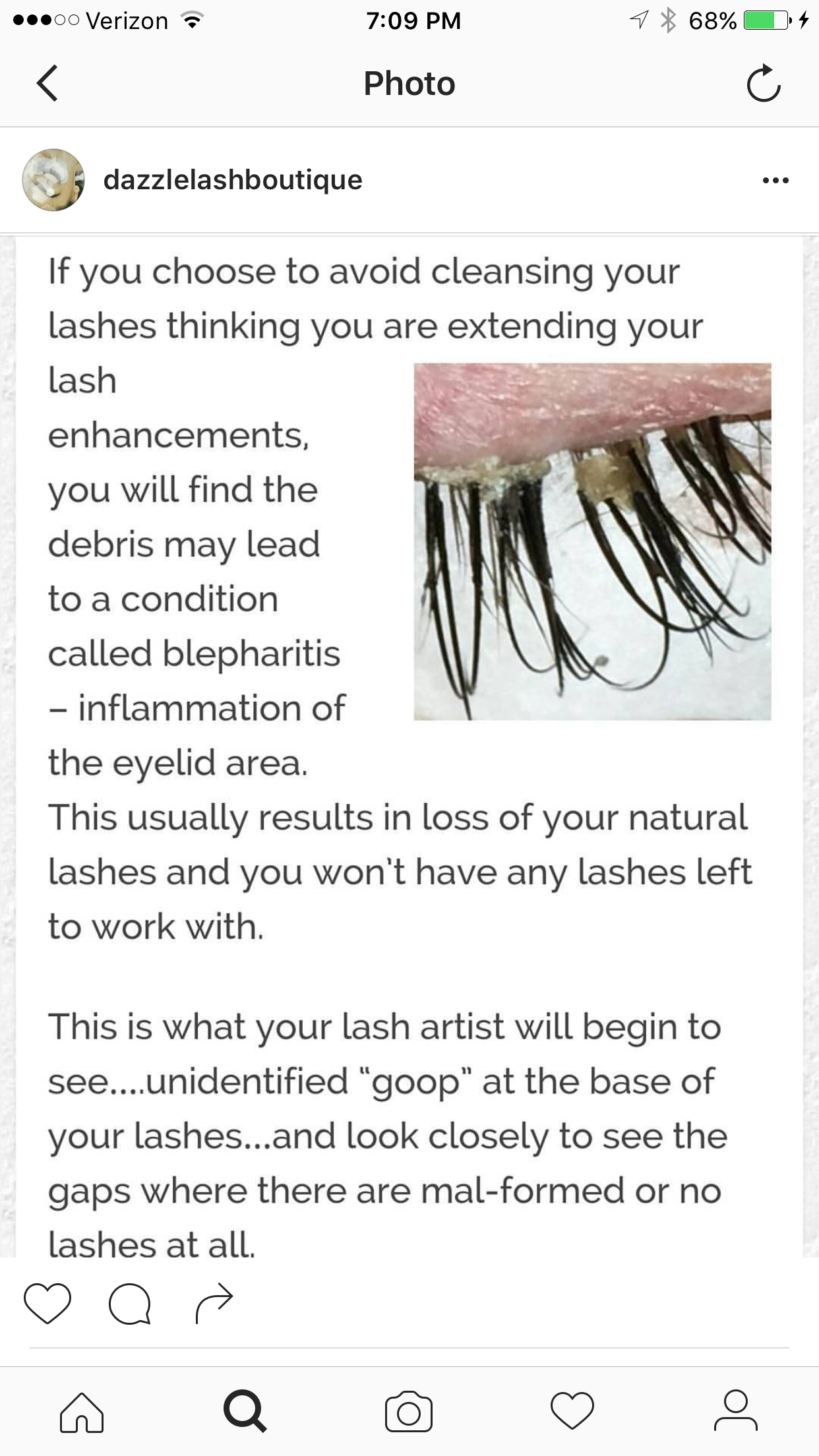 lash extension aftercare instructions