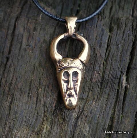 Bronze horned odin pendant viking jewelry vikings and viking age bronze horned odin pendant aloadofball Gallery