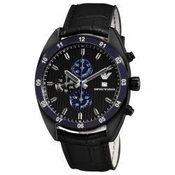 6cc4c75d5f5 Emporio Armani  Sport  Men s Black Dial Chronograph Watch by Emporio Armani