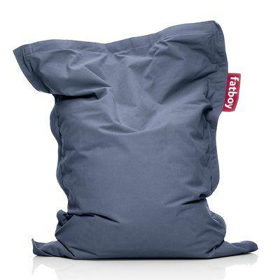 Photo of Fatboy Large 100% Cotton Bean Bag Chair & Lounger | Perigold