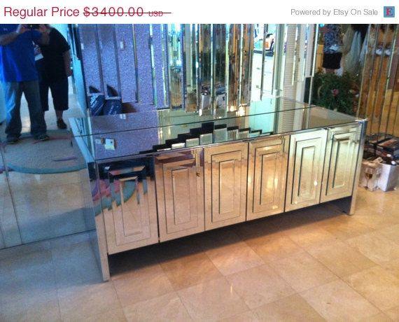 Big Sale SALE Vintage Mirrored Mirror ELLO By Feelinvintage - Ello bedroom furniture