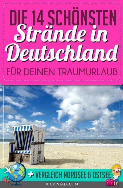 die schönsten strände in deutschland  traumhafte strände
