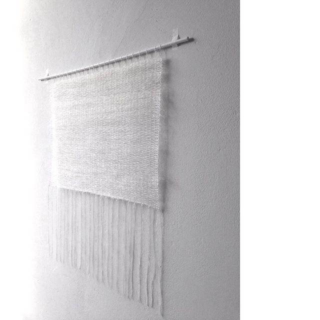 white threads | continuity #weavingwhite