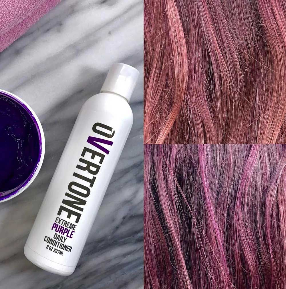 4 Ways To Safely Transition To From Fashion Colors Behindthechair Com Cool Hair Color Purple Hair Color Shampoo