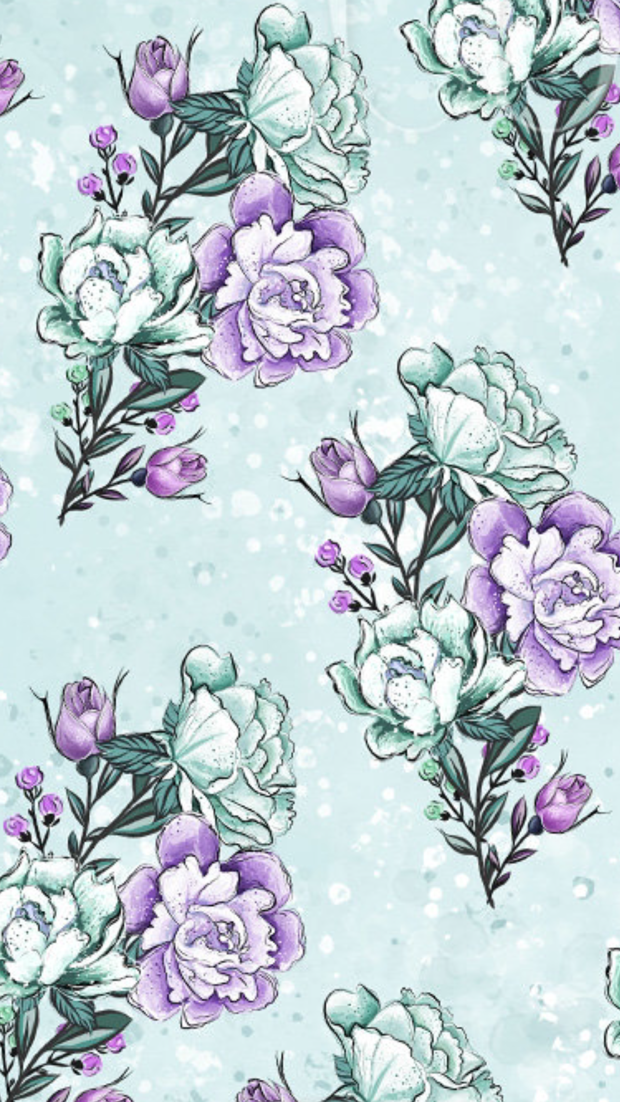 Pin by Erin Kolles on wallpapers | Flowery wallpaper ...