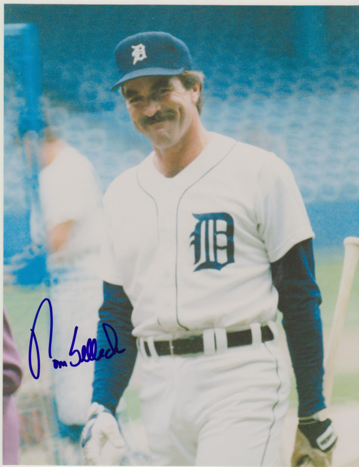 sports shoes 8b505 64d99 TOM WAS A MINOR OWNER OF THE TEAM: DETROIT TIGERS. TOM WAS ...