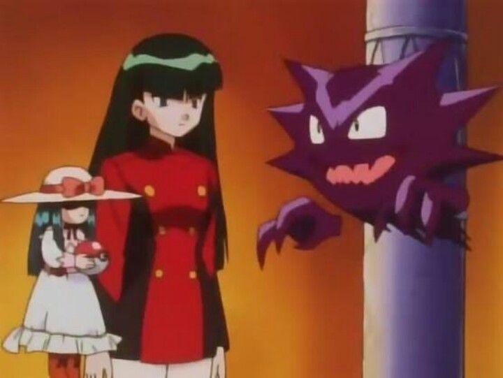 Pokemon Sabrina And Haunter Pokemon Pokemon Gym Leaders