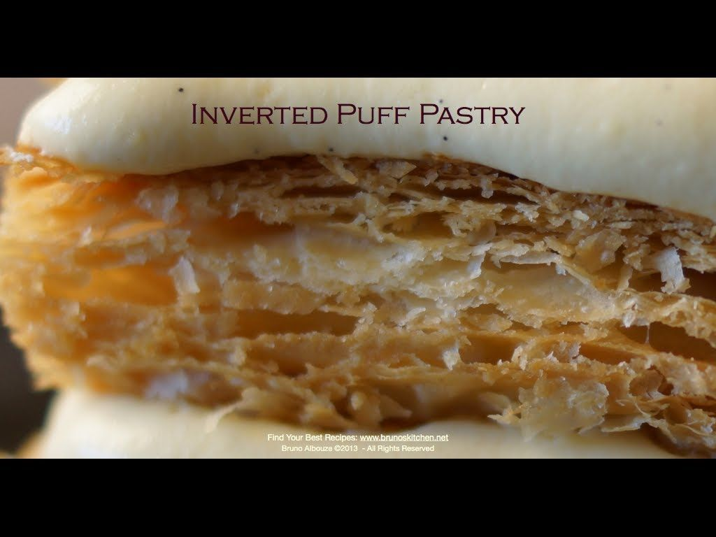 Homemade Inverted Puff Pastry