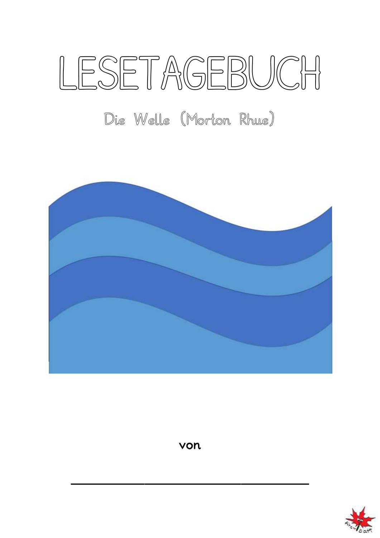 Lesetagebuch zum Jugendroman Die Welle in einfacher Sprache ...