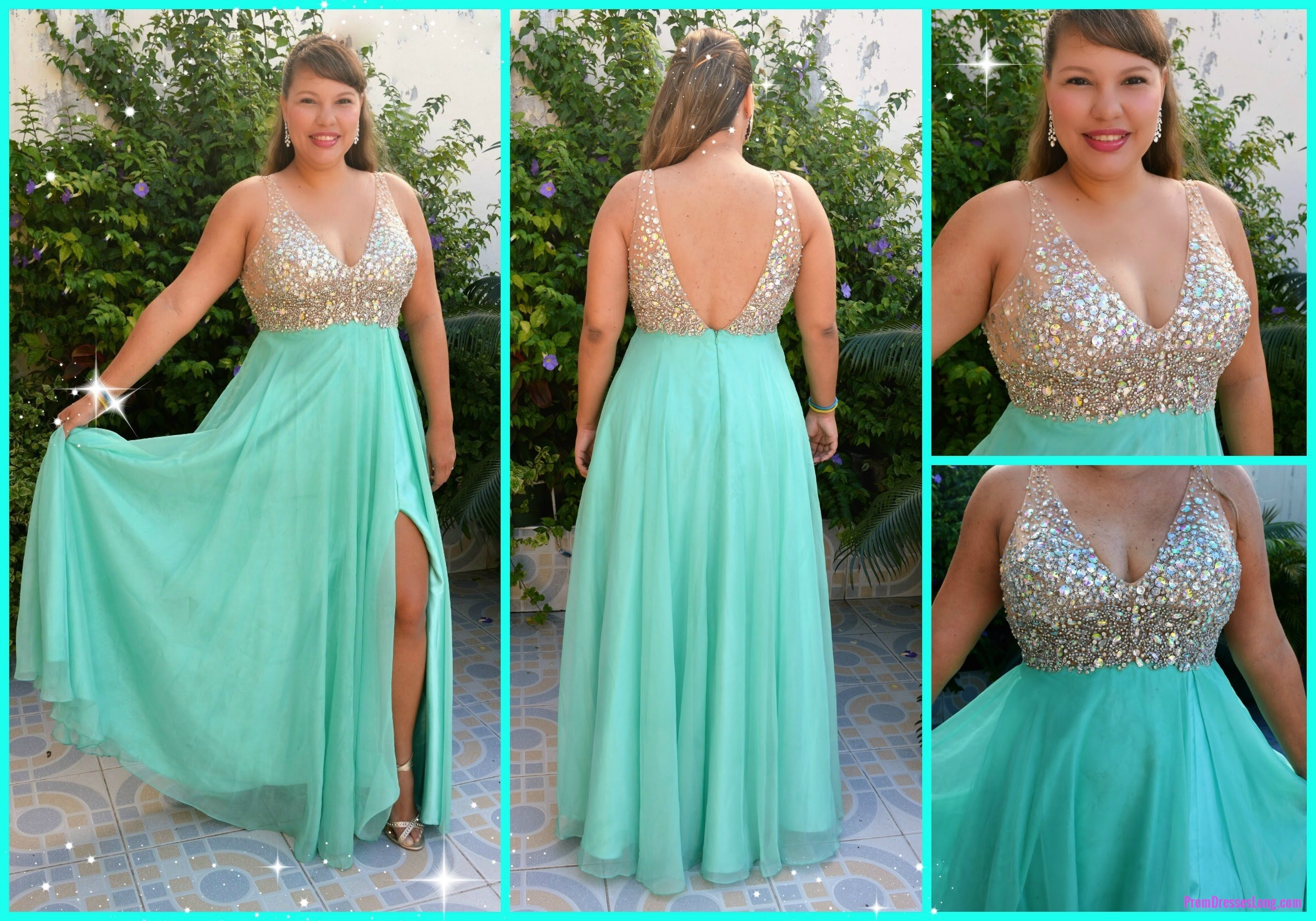 Long prom dressesa line prom dressblue prom dressesformal evening