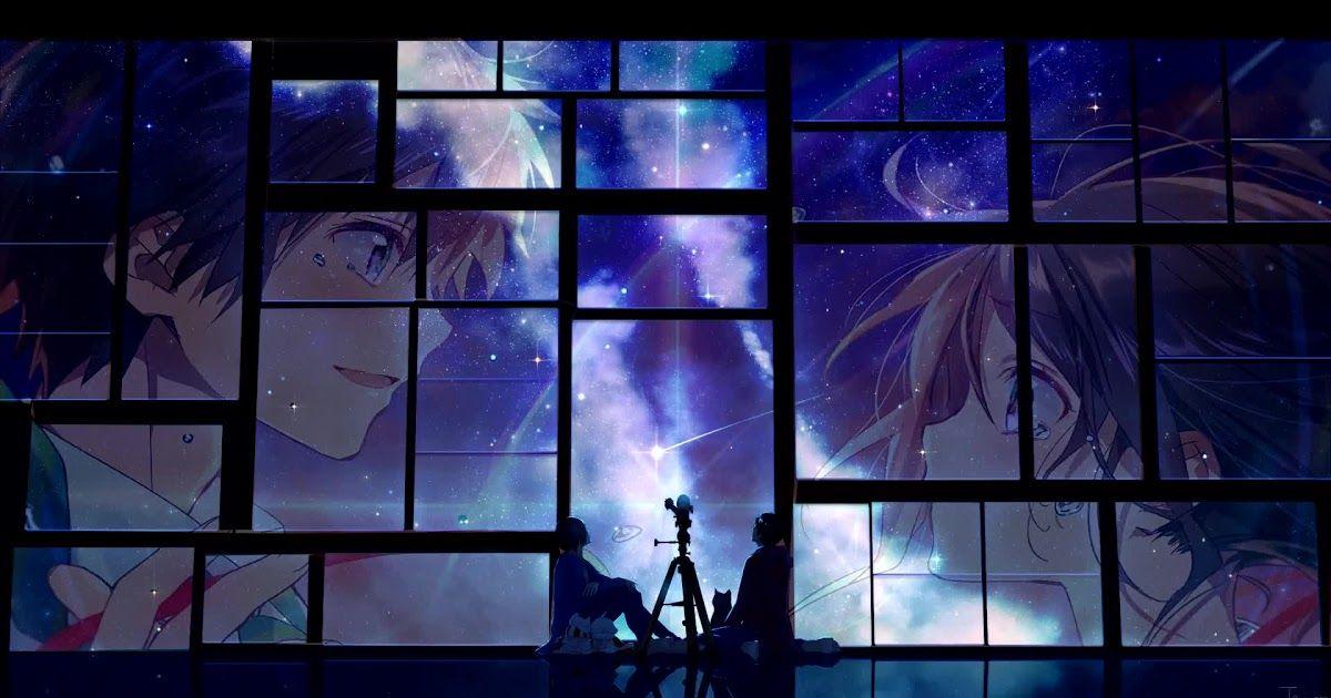 Kimi No Nawa Night Sky Hd Live Wallpaper Desktophut Kimi No Na Wa Your Name Zerochan Anime Image Board Android Wallpaper Anime Anime Wallpaper Phone Wallpaper