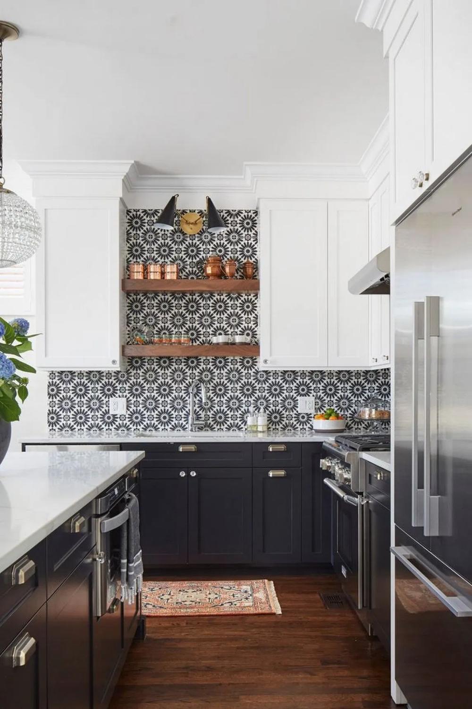 50 Amazing Black Kitchen Design Ideas 2020 7 Irma Blackkitchen Kitchen Kitchendesign Kitchen Renovation Kitchen Design Modern Kitchen