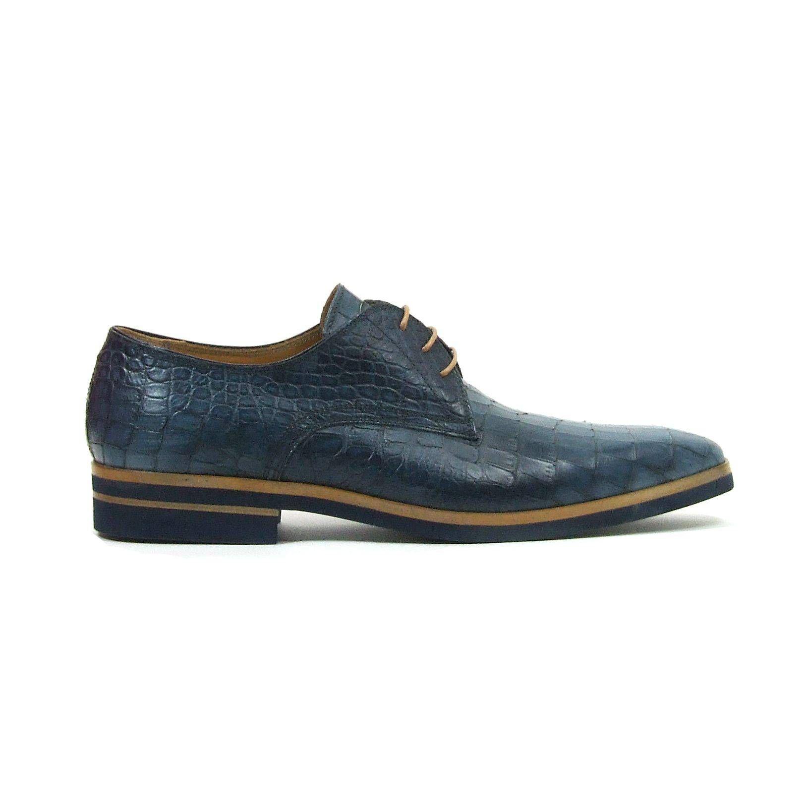Giorgio Chaussures De Sport Bleu Occasionnels Avec Les Hommes Lacer NH83Jrie