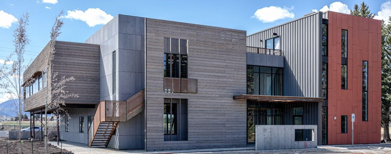 Aquafir Siding On A Commercial Building Building Siding Exterior Siding