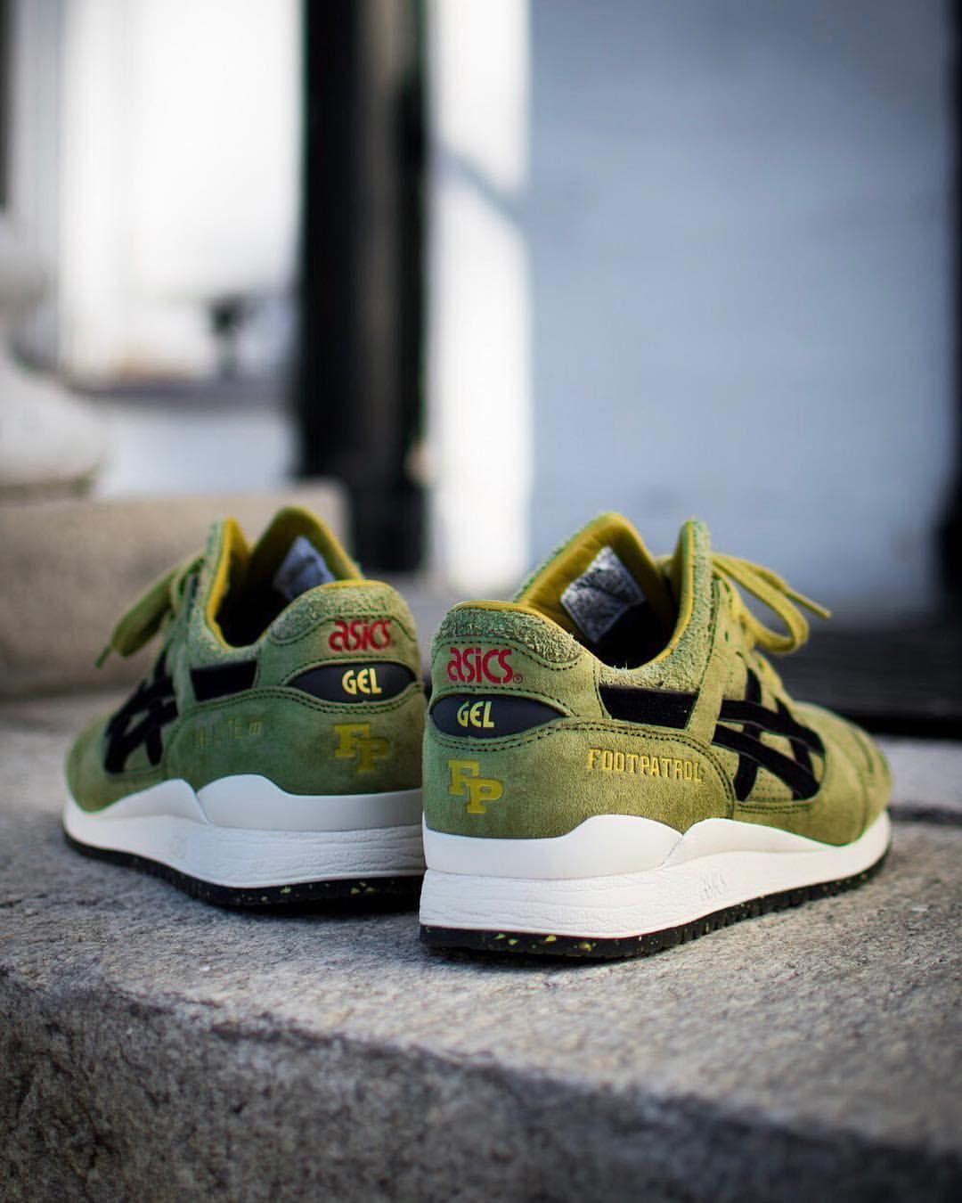 Footpatrol x Asics Gel Lyte III | Retro shoes, Adidas