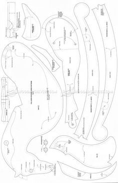 #689 Rocking Horse Plans - Wooden Toy Plans
