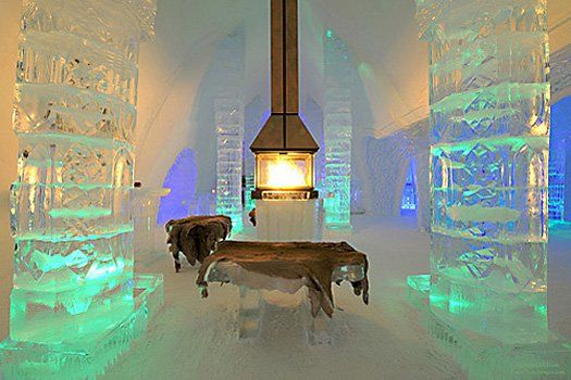 A Hotel Made Out Of Ice Hotel Making Out Ice Hotel