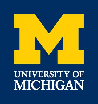 Michigan Wolverines Alternate Logo 1996 Pres Michigan Wolverines Michigan Michigan Football